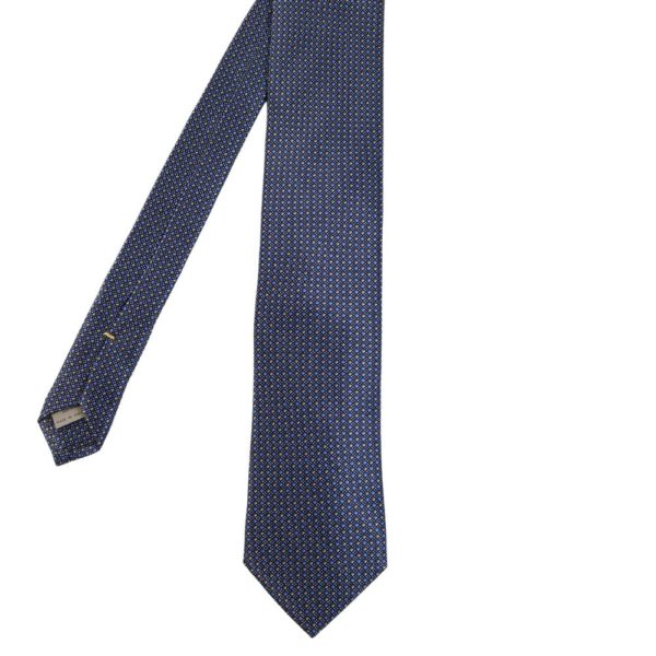 Canali Mini Diamond and Dots Tie main