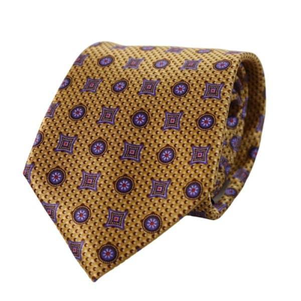 Canali Ornate pattern tie