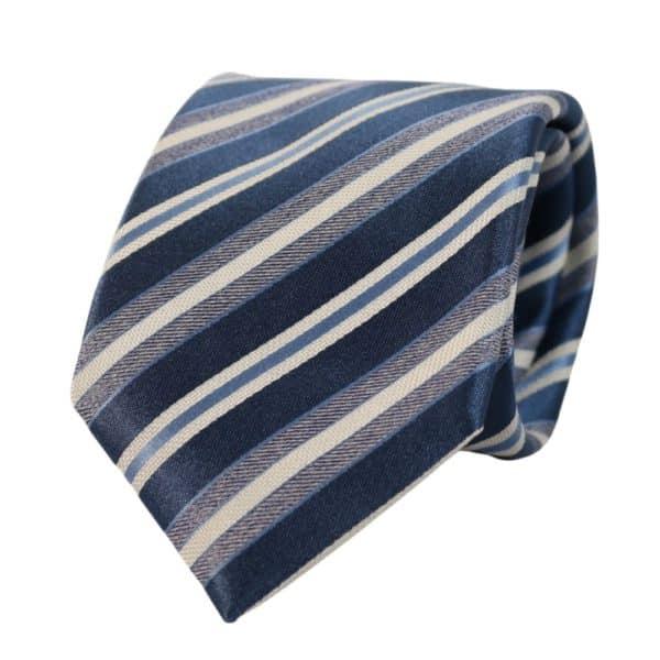Canali Regimental stripe blue