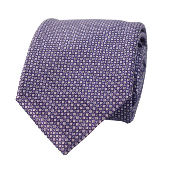 Canali Square Knit Tie