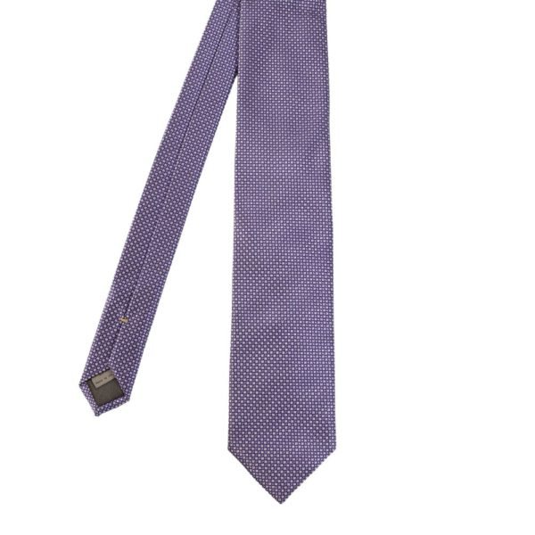 Canali Square Knit Tie main