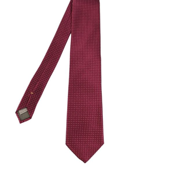 Canali Triangle and Dot Tie red