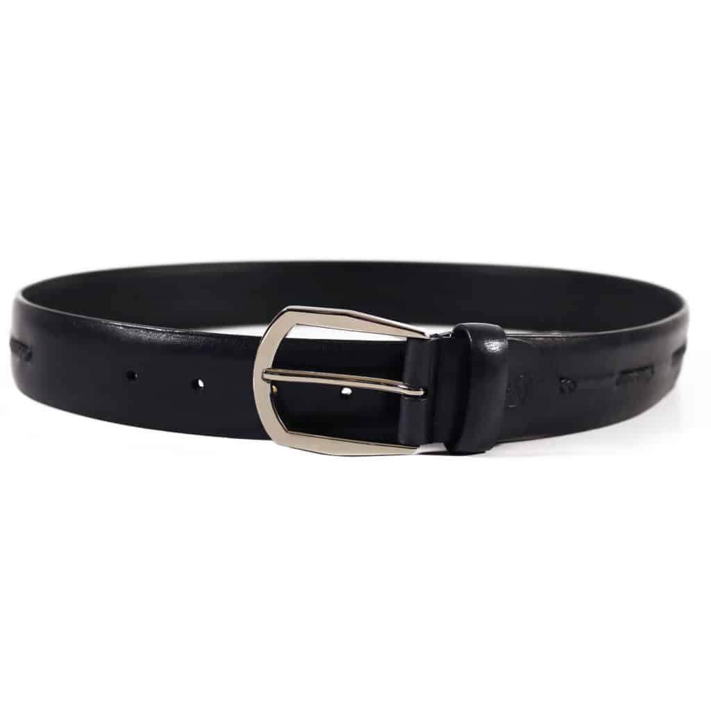 Canali navy belt braided insert2