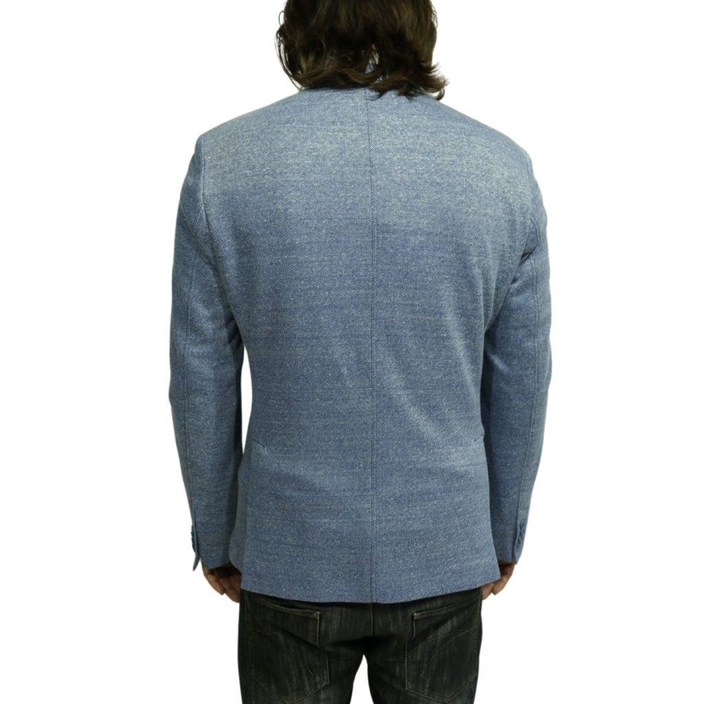 Circolo blazer jacket blue back