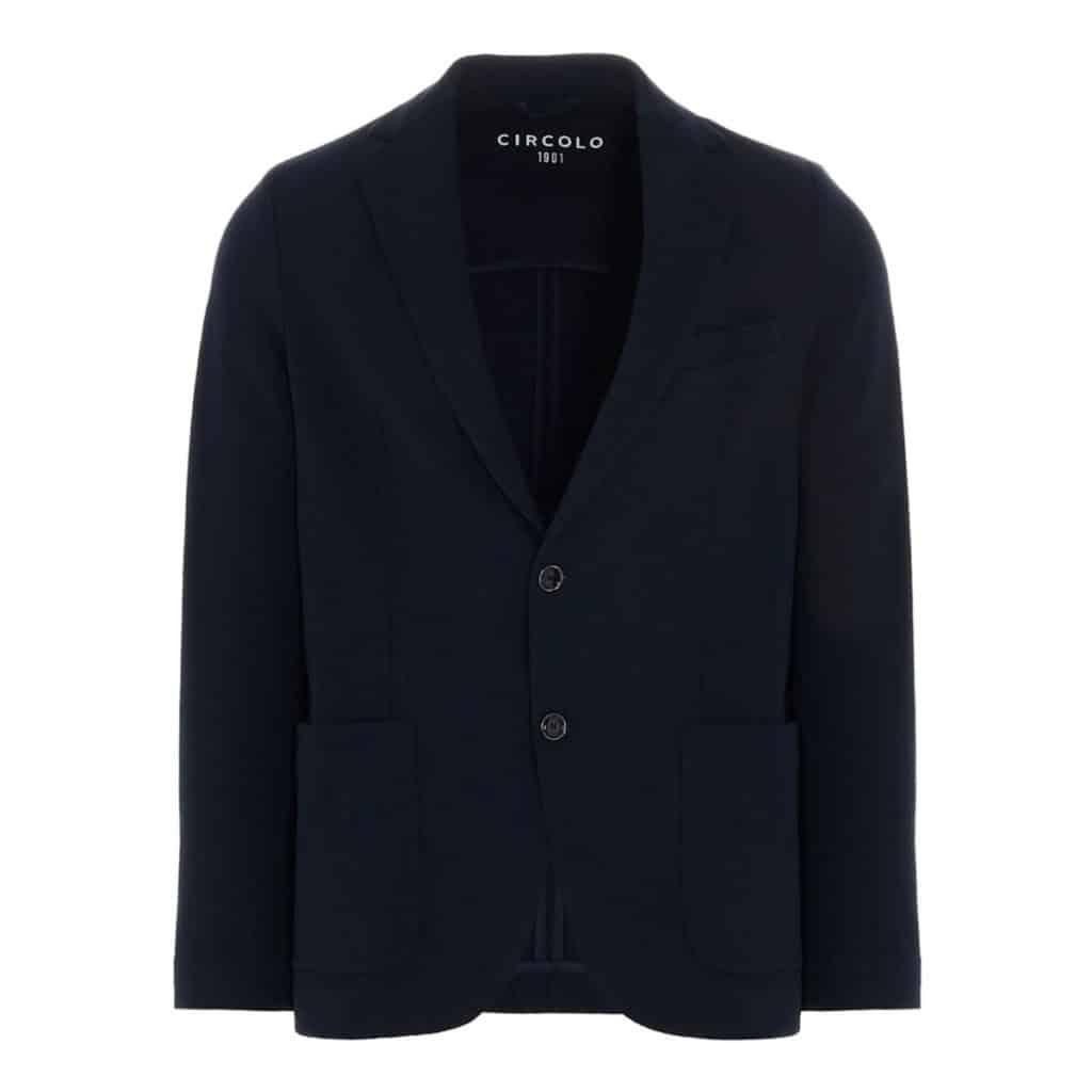 Circolo indigo blazer jacket