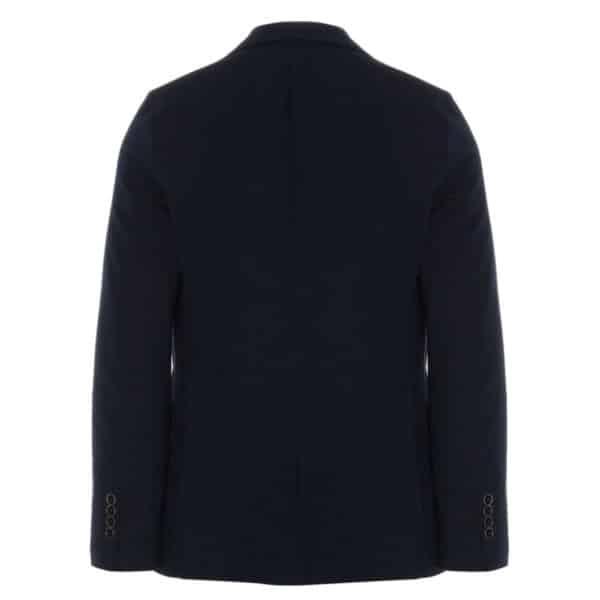Circolo indigo blazer jacket back