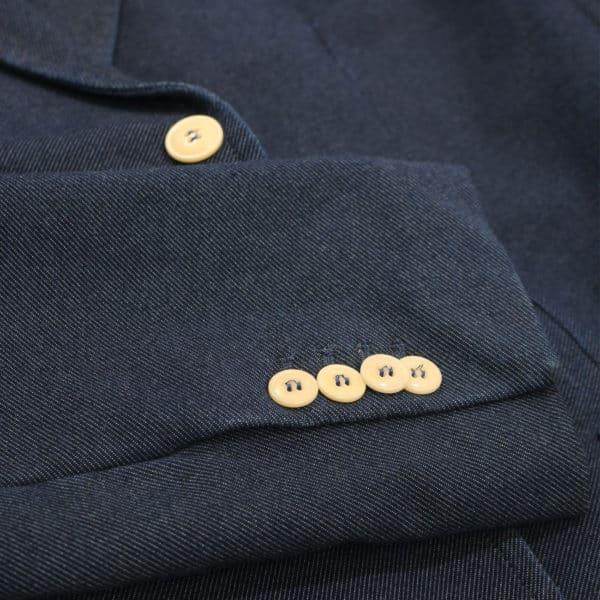 Circolo jacket indigo twill stretch 1