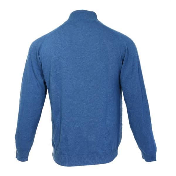 Codice blue half zip jumper