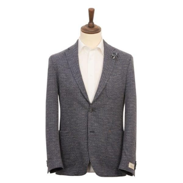 DIGEL Enrico Cotton Blend Unstructured Jacket NAVY 1