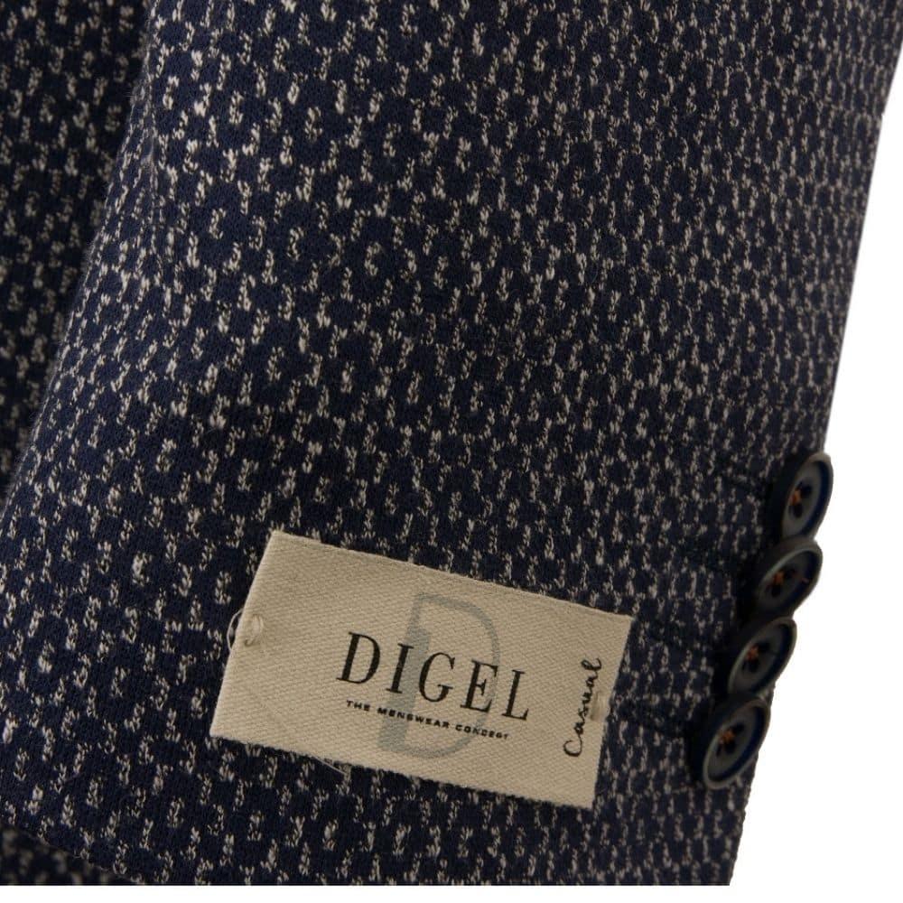 DIGEL Enrico Cotton Blend Unstructured Jacket NAVY 2