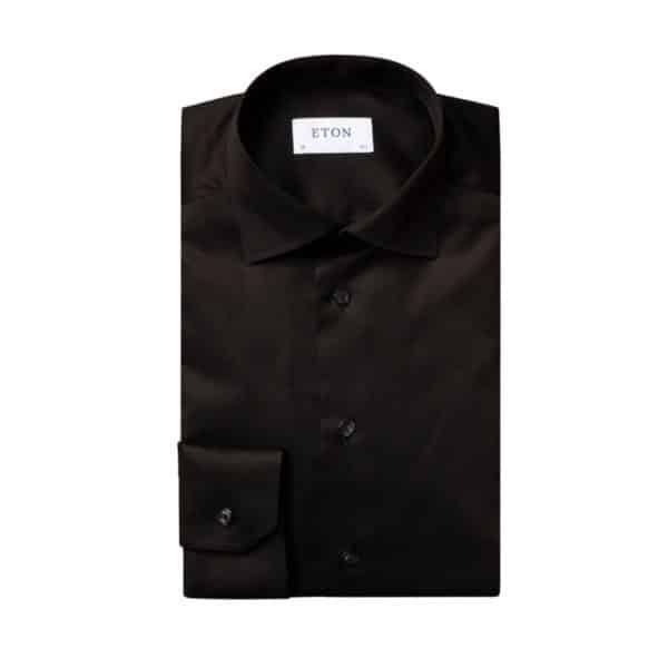Eton Shirt signature twill black