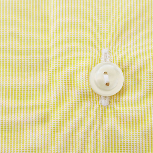Eton Shirt stripe yellow contemporary fabric