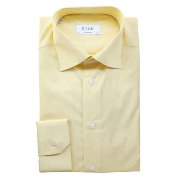 Eton Shirt stripe yellow contemporary1