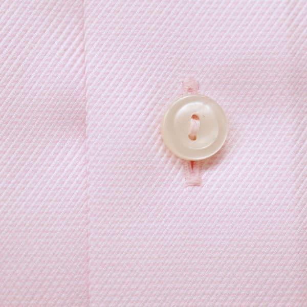 Eton Shirt structured pink waffle twill pink