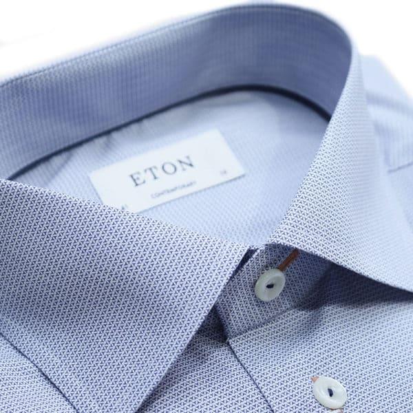 Eton shirt brighton pattern collar