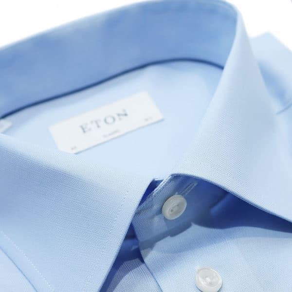 Eton shirt classic herringbone collar