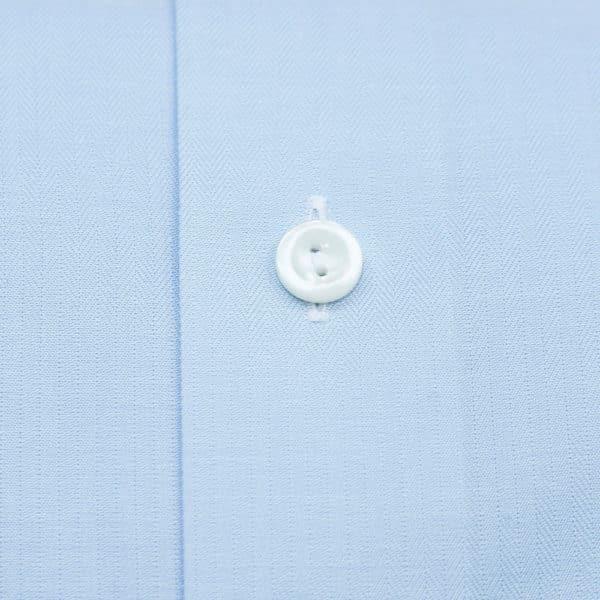 Eton shirt classic herringbone fabric