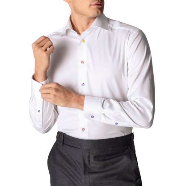 Eton shirt signature twill multi button