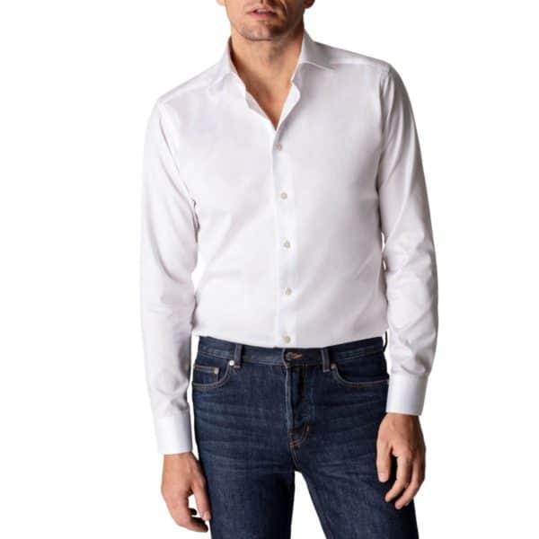 Eton shirt signature twill white 2