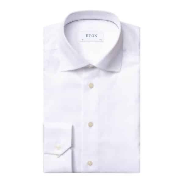 Eton shirt signature twill white