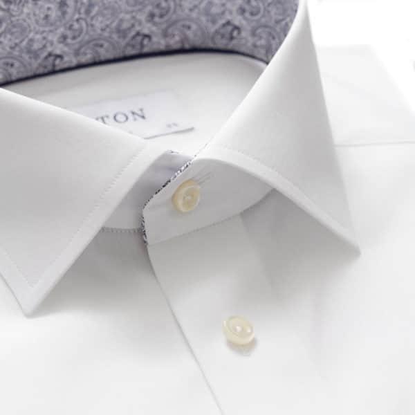 Eton shirt white contrast paisley collar1