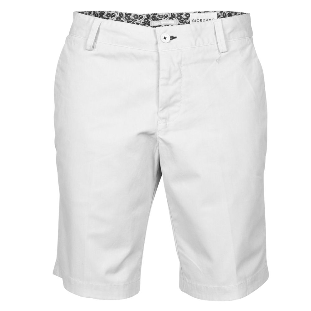 Giordano White Shorts