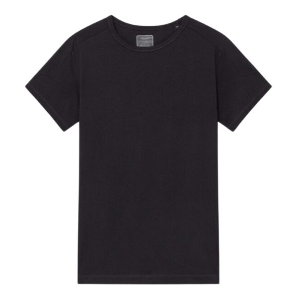 HACKETT ASTON MARTIN PLAIN SHORT SLEEVED T SHIRT BLACK