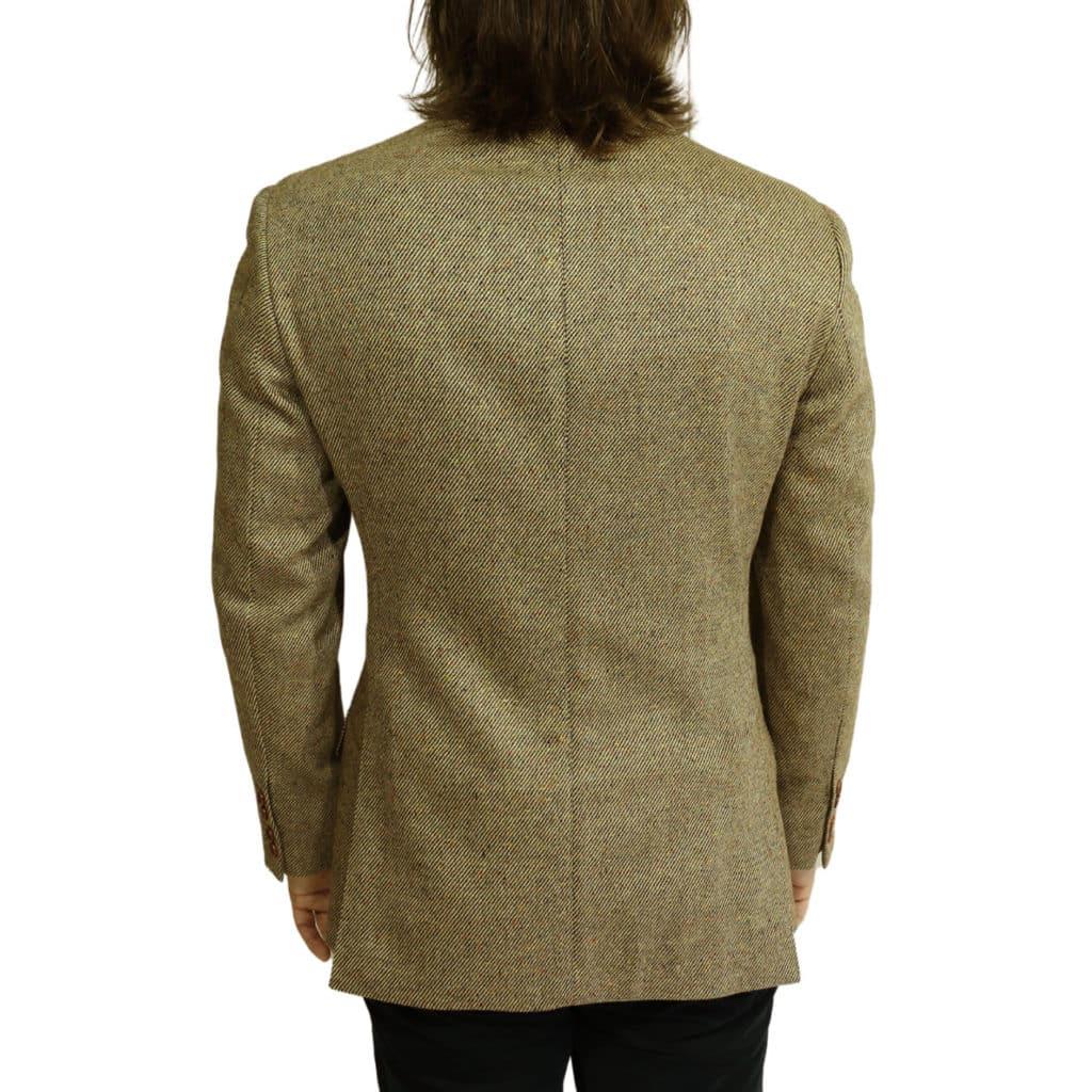 Hackett sand blazer jacket back