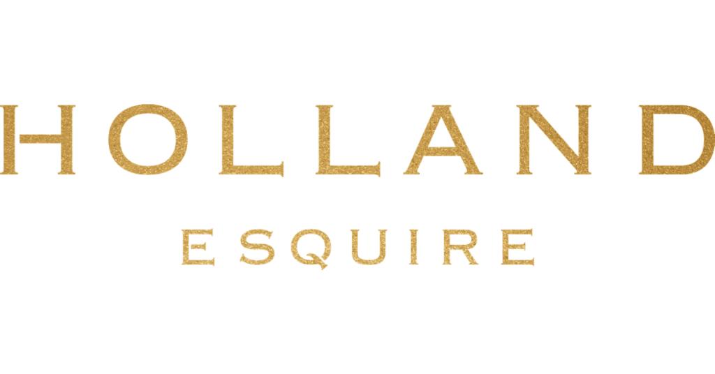 Holland Esquire Logo Gold