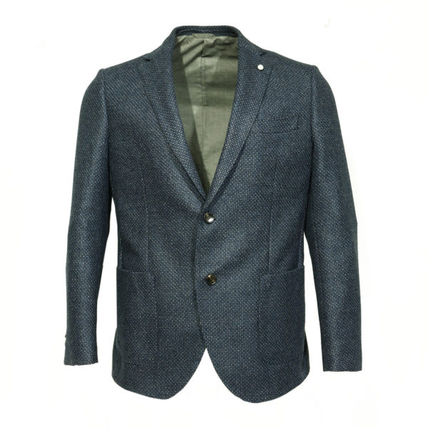 Luigi Bianchi Blazer Jacket Open