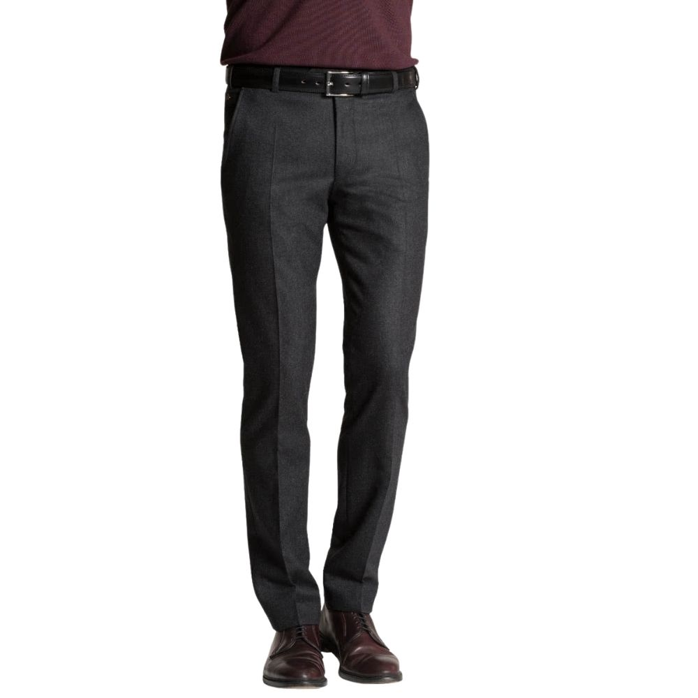 MEYER CHARCOAL TROUSER