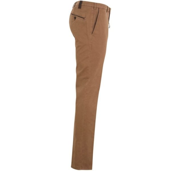 MMX LYNX Cotton and Cashmere Camel Chinos Side