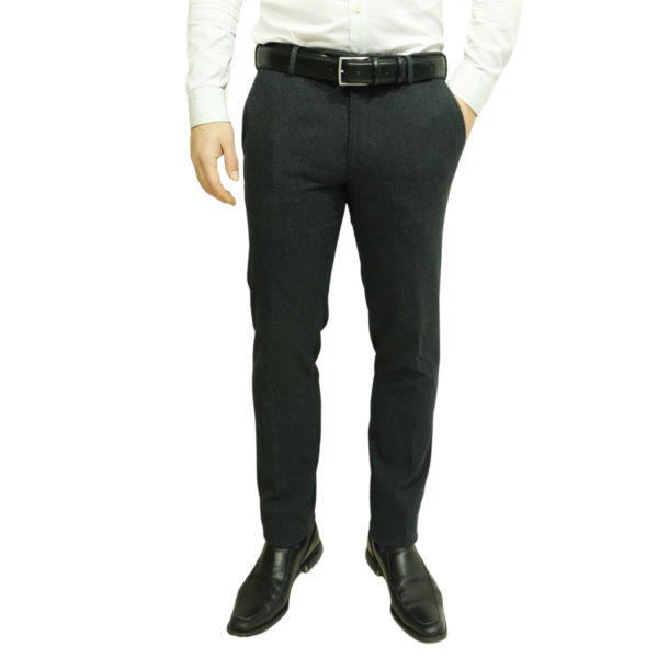 MMX black trouser front