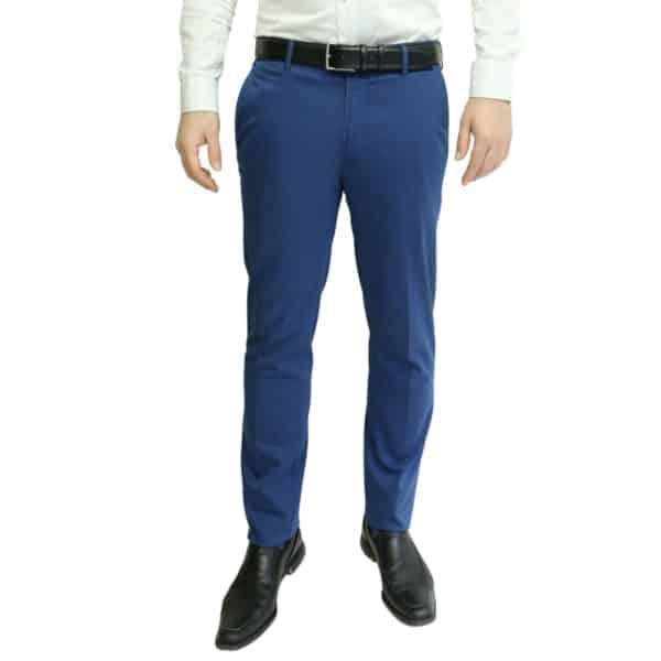 MMX blue trouser front
