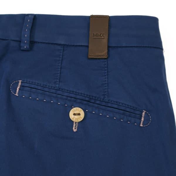 MMX trouser navy back pocket