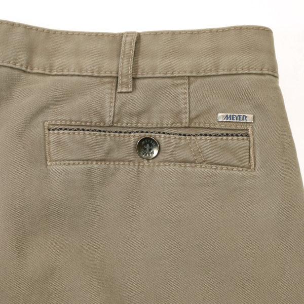 Meyer New York Cotton Camel Chinos pocket
