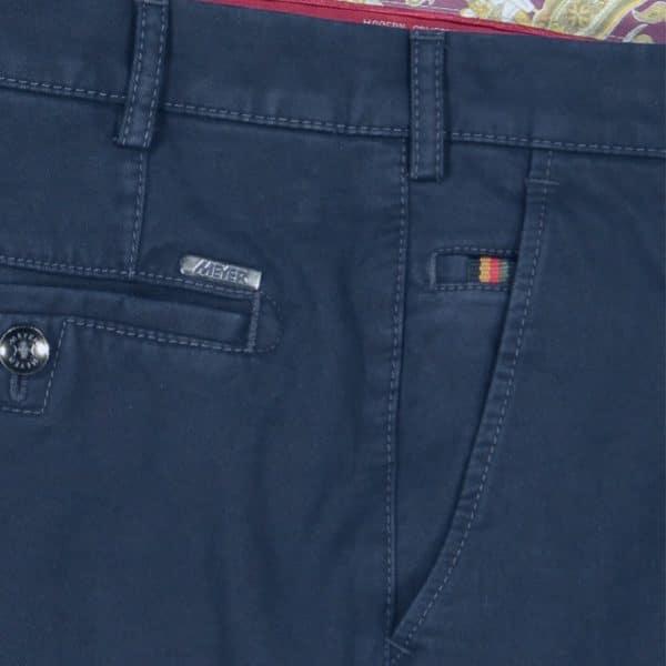 Meyer Roma Marine Organic cotton chino side pocket