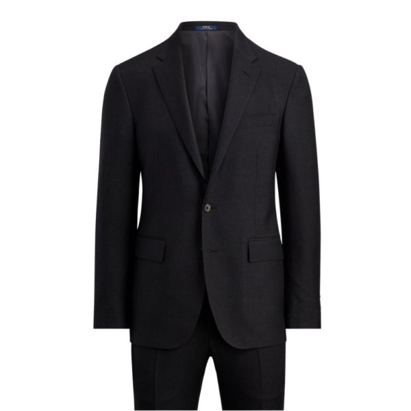 POLO RALPH LAUREN WOOL TWILL SUIT CHARCOAL