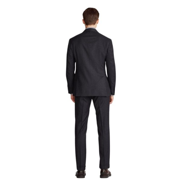 POLO RALPH LAUREN WOOL TWILL SUIT CHARCOAL1