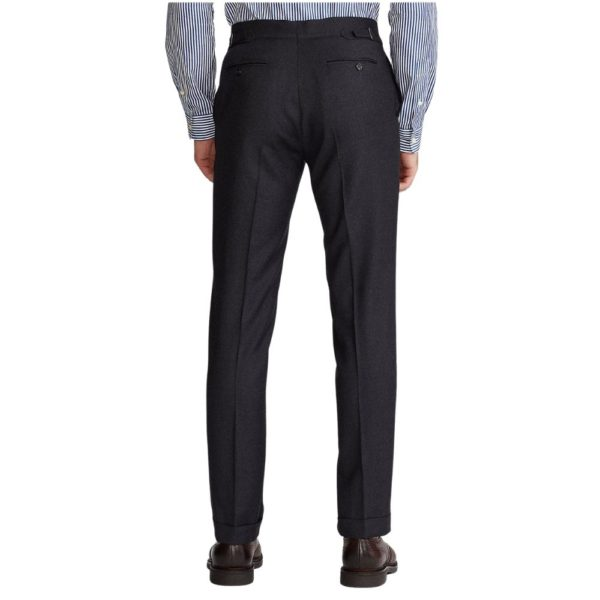 POLO RALPH LAUREN WOOL TWILL SUIT CHARCOAL3