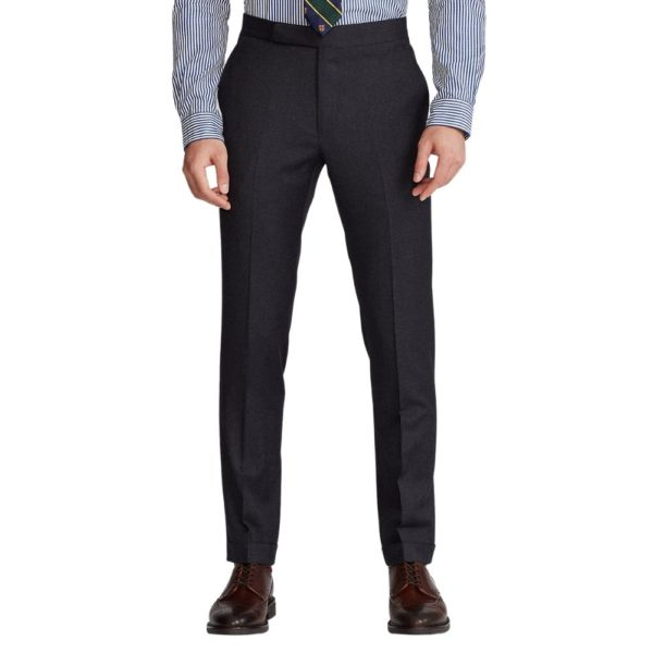 POLO RALPH LAUREN WOOL TWILL SUIT CHARCOAL5