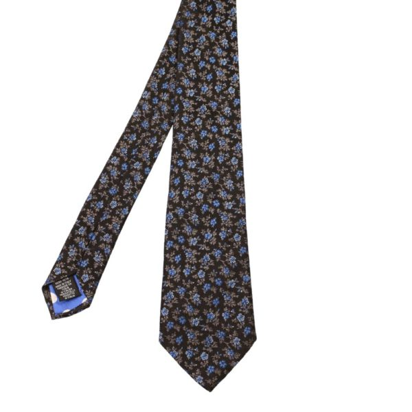 Paul Smith Floral Embroidery Tie 1