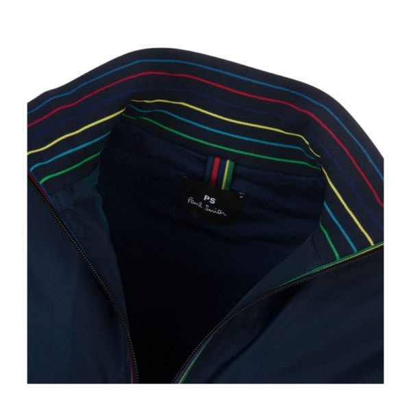 Paul Smith Track Navy Blue collar