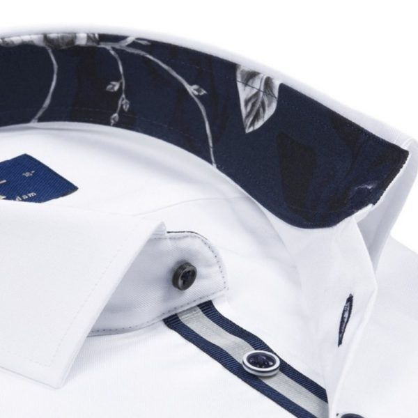R2 SHIRT REFLECTIVE PIPING TRIM WHITE1