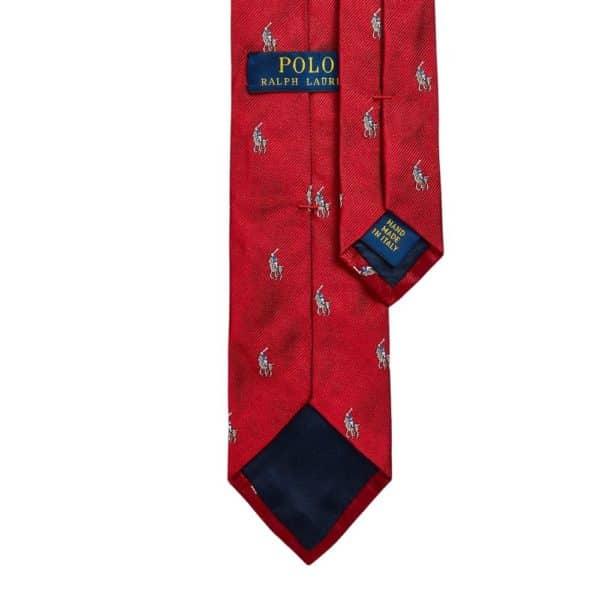 Ralph Lauren Polo Pony Tie red 1