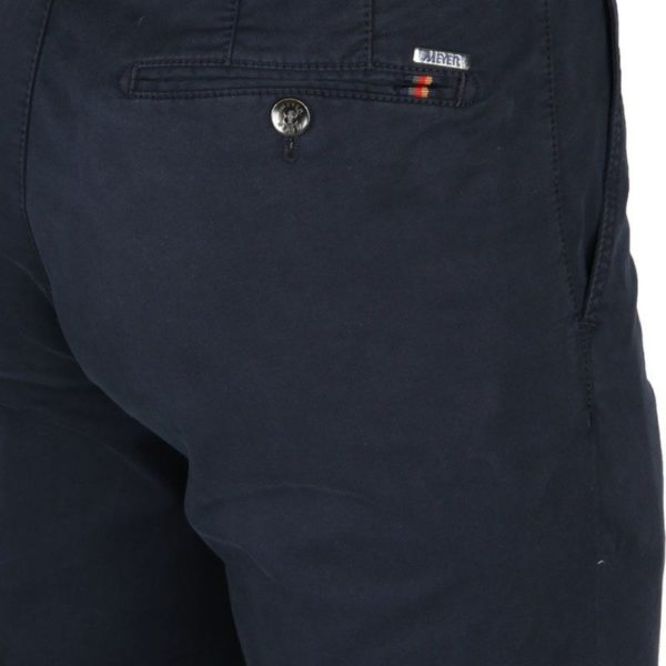 Rio Cotton Navy Chinos back