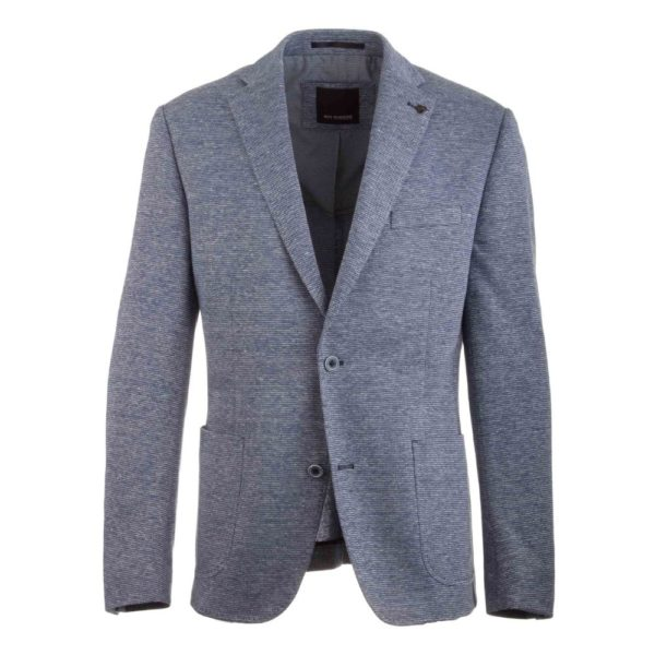 Roy Robson unstructured jacket blue 1
