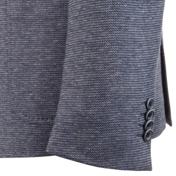 Roy Robson unstructured jacket sleeve blue