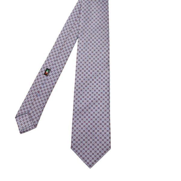 Silvio Fiorello Tie Flower Diamond Tie Light Blue 2