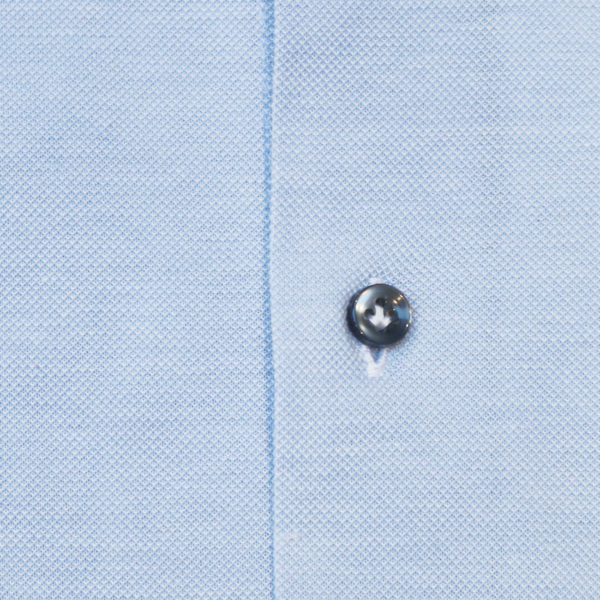 THOMAS MAINE KNITTED SHIRT BLUE1